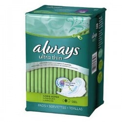 Ultra Thin - 80 Serviettes hygiéniques Always taille Long sur Couches Poupon