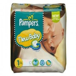 New Baby Dry - 301 Couches Pampers taille 1