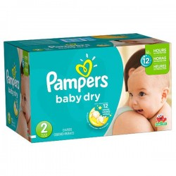 Baby Dry - 252 Couches Pampers taille 2