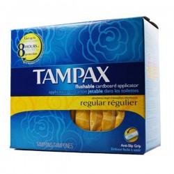 Compak - 80 Tampons de Tampax taille regular avec applicateureur sur Couches Poupon