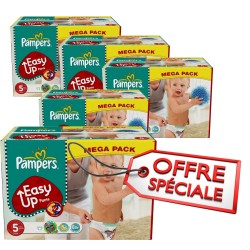 Easy Up - 731 Couches Pampers taille 5 sur Couches Poupon