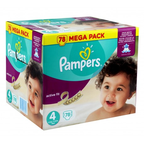54 couches pampers active fit taille 4 moins cher sur - Couches pampers taille 4 comparateur prix ...