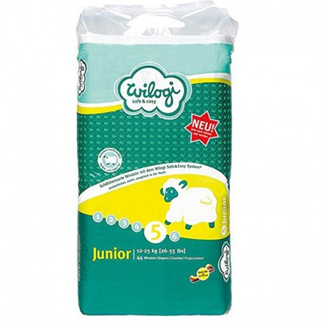 Baby Dry - 44 Couches Wilogi taille 5 sur Couches Poupon