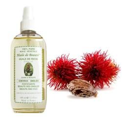 Huile de beauté au Ricin 100 % pure et végétale sur Couches Poupon