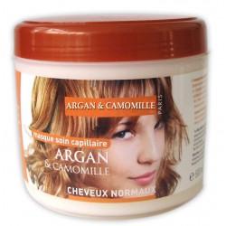 Masque capillaire à l'argan & camomille cheveux normaux sur Couches Poupon