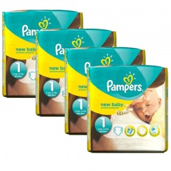 Pampers - 115 Couches New Baby taille 1