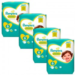 Pampers - Mega Pack 96 Couches Premium Protection - New Baby taille 6
