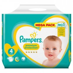 Pampers - Pack 39 Couches New Baby - Premium Protection taille 4 sur Couches Poupon