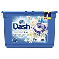 Dash Perles 19 Fleurs de Lotus & Lys 2en1 (501,6 gr) sur Couches Poupon