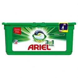 Ariel Pods 28 Original 3in1 (795,2 gr) sur Couches Poupon