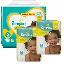 Pampers - Maxi Pack 315 Couches New Baby - Premium Protection taille 5