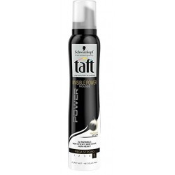 Taft Mousse 200 ml Invisible Power Mega Strong N°5 sur Couches Poupon