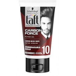 Taft Gel 150 ml Carbon Force N°10 sur Couches Poupon