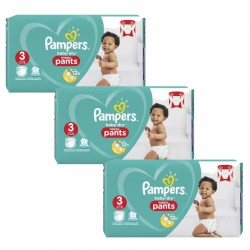 Pampers - Maxi Giga Pack 240 Couches Baby Dry Pants taille 3