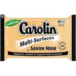 Carolin Serpillières 15 pièces au Savon Noir sur Couches Poupon