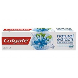 Colgate - Dentifrice Natural Extracts Blancheur Eclatante sur Couches Poupon