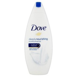 Dove Douche 250 ml Deeply Nourishing sur Couches Poupon
