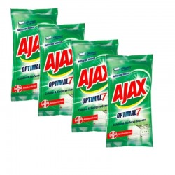 Ajax Lingettes 200 Lingettes Optimal 7 Cuisine & Surfaces Grasses sur Couches Poupon
