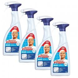 Meister Proper 4 Spray 700 ml Nettoyant Salle de Bains sur Couches Poupon