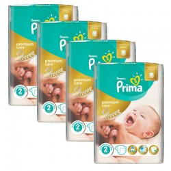 Giga Pack 110 Couches Pampers Premium Care Prima sur Couches Poupon