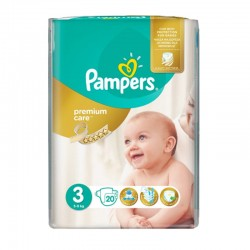Pack 20 Couches Pampers Premium Care Prima sur Couches Poupon