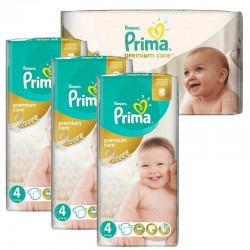 Pampers - Giga Pack 240 Couches Premium Care - Prima taille 4