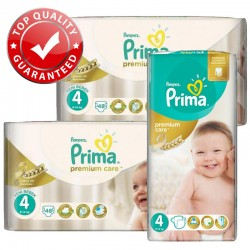 Pampers - Maxi Giga Pack 560 Couches Premium Care - Prima taille 4 sur Couches Poupon