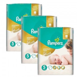 Maxi Giga Pack 208 Couches Pampers Premium Care Prima sur Couches Poupon