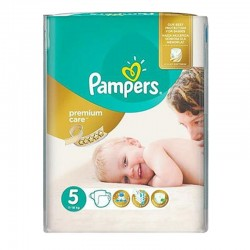 Pampers - Pack 60 Couches Premium Care - Prima taille 5 sur Couches Poupon