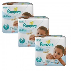 Pampers - 180 Couches New Baby Sensitive