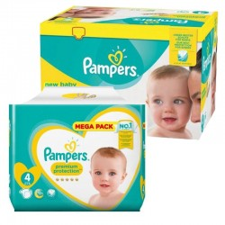 Pack 117 Couches Pampers New Baby Premium Protection