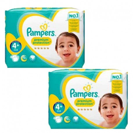 Maxi Pack 124 couches Pampers New Baby Premium Protection sur Couches Poupon