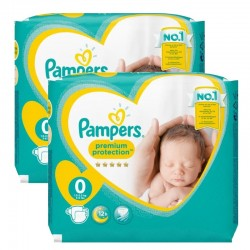 Pack 48 Couches New Baby Premium Protection sur Couches Poupon
