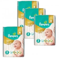 Pack 100 Couches Pampers Premium Care Prima