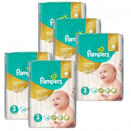 Giga Pack 140 Couches Pampers Premium Care Prima sur Couches Poupon