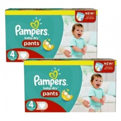 Pampers - giga pack 564 Couches Baby Dry Pants taille 4