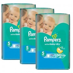 Giga Pack 264 couches Pampers Active Baby Dry