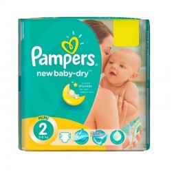 Pampers - Pack 43 Couches New Baby Dry