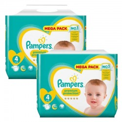 Pack 164 Couches Pampers New Baby Premium Protection sur Couches Poupon