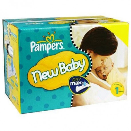 New Baby - 280 Couches Pampers taille 1 sur Couches Poupon