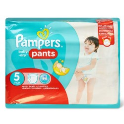 Pampers - Pack 96 Couches Baby Dry Pants taille 5
