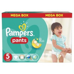 Pampers - Pack 66 Couches Baby Dry Pants taille 5